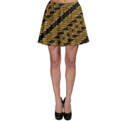 Traditional Art Indonesian Batik Skater Skirt