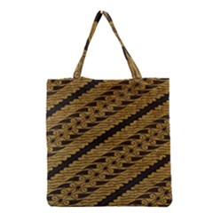 Traditional Art Indonesian Batik Grocery Tote Bag