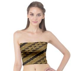 Traditional Art Indonesian Batik Tube Top