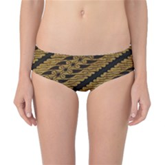 Traditional Art Indonesian Batik Classic Bikini Bottoms