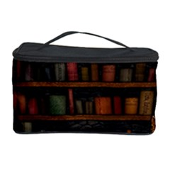 Books Library Cosmetic Storage Case