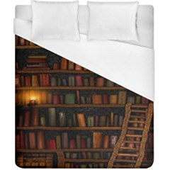 Books Library Duvet Cover (california King Size)
