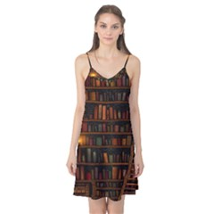Books Library Camis Nightgown