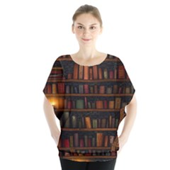 Books Library Blouse