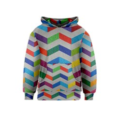 Charming Chevrons Quilt Kids  Pullover Hoodie