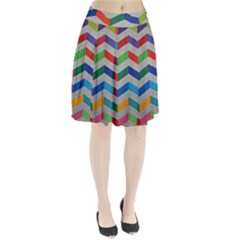 Charming Chevrons Quilt Pleated Skirt