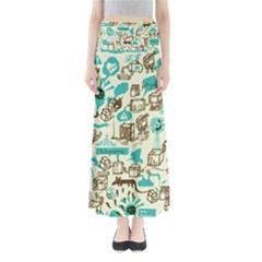 Telegramme Full Length Maxi Skirt
