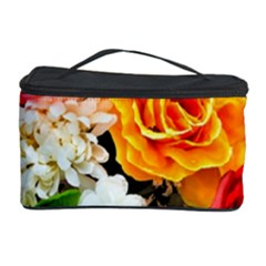 Colorful Flowers Cosmetic Storage Case