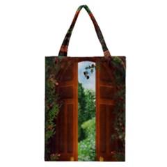Beautiful World Entry Door Fantasy Classic Tote Bag