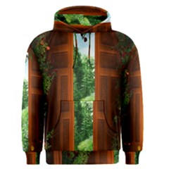 Beautiful World Entry Door Fantasy Men s Pullover Hoodie