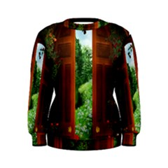 Beautiful World Entry Door Fantasy Women s Sweatshirt
