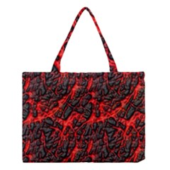 Volcanic Textures  Medium Tote Bag