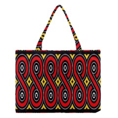 Toraja Traditional Art Pattern Medium Tote Bag