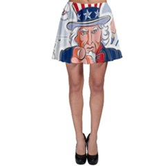 Independence Day United States Of America Skater Skirt