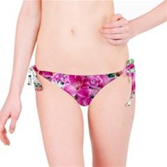 Colorful Flowers Patterns Bikini Bottom
