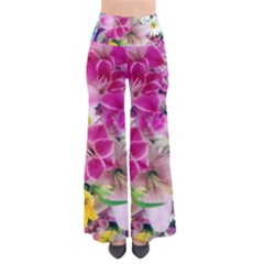 Colorful Flowers Patterns Pants