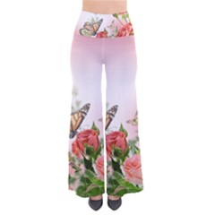 Flora Butterfly Roses Pants