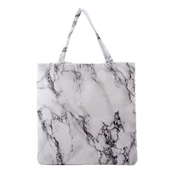 Marble Pattern Grocery Tote Bag