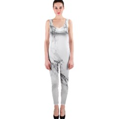 Marble Pattern Onepiece Catsuit