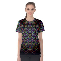 The Flower Of Life Women s Cotton Tee