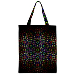 The Flower Of Life Zipper Classic Tote Bag