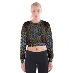 The Flower Of Life Cropped Sweatshirt