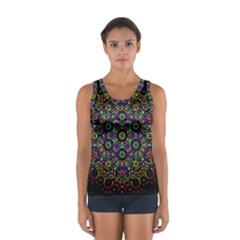 The Flower Of Life Sport Tank Top