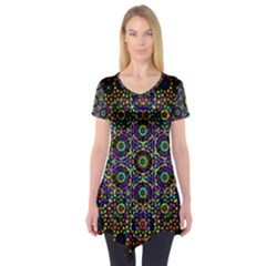 The Flower Of Life Short Sleeve Tunic