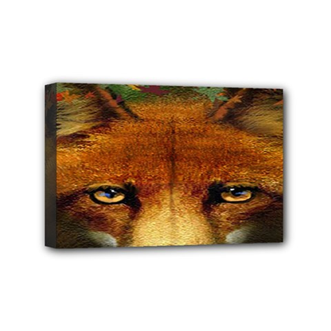 Fox Mini Canvas 6  X 4