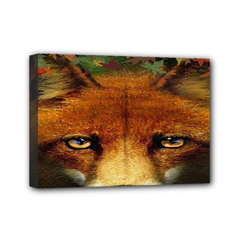 Fox Mini Canvas 7  X 5