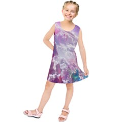 Clouds Multicolor Fantasy Art Skies Kids  Tunic Dress