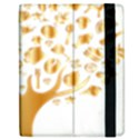 Abstract Book Floral Food Icons Apple iPad Mini Flip Case View2