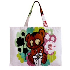 Bear Cute Baby Cartoon Chinese Zipper Mini Tote Bag