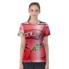 Beverage Can Drink Juice Tomato Women s Sport Mesh Tee