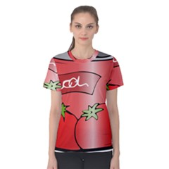 Beverage Can Drink Juice Tomato Women s Cotton Tee