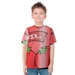 Beverage Can Drink Juice Tomato Kids  Cotton Tee
