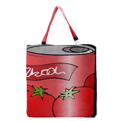 Beverage Can Drink Juice Tomato Grocery Tote Bag