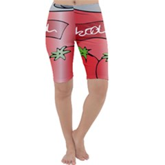 Beverage Can Drink Juice Tomato Cropped Leggings
