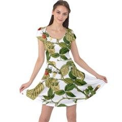 Berries Berry Food Fruit Herbal Cap Sleeve Dresses