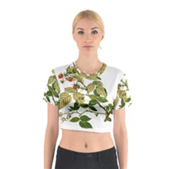 Berries Berry Food Fruit Herbal Cotton Crop Top
