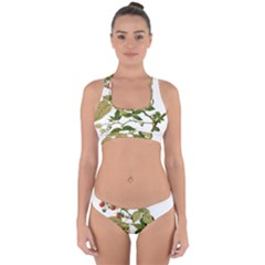 Berries Berry Food Fruit Herbal Cross Back Hipster Bikini Set