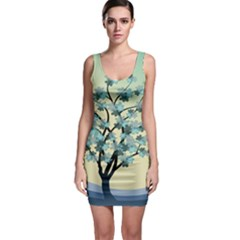 Branches Field Flora Forest Fruits Bodycon Dress