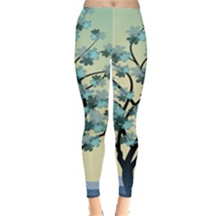 Branches Field Flora Forest Fruits Leggings