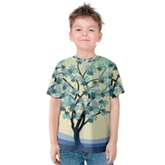 Branches Field Flora Forest Fruits Kids  Cotton Tee