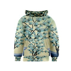 Branches Field Flora Forest Fruits Kids  Pullover Hoodie