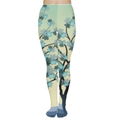 Branches Field Flora Forest Fruits Women s Tights