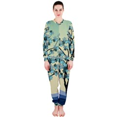 Branches Field Flora Forest Fruits Onepiece Jumpsuit (ladies)