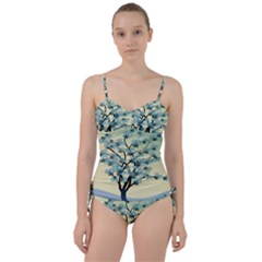 Branches Field Flora Forest Fruits Sweetheart Tankini Set