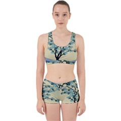 Branches Field Flora Forest Fruits Work It Out Sports Bra Set
