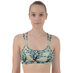 Branches Field Flora Forest Fruits Line Them Up Sports Bra